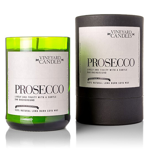 Yarm gifts prosecco candles