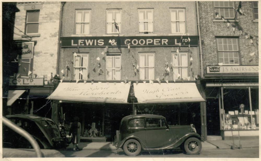 Old Shop Image with Car