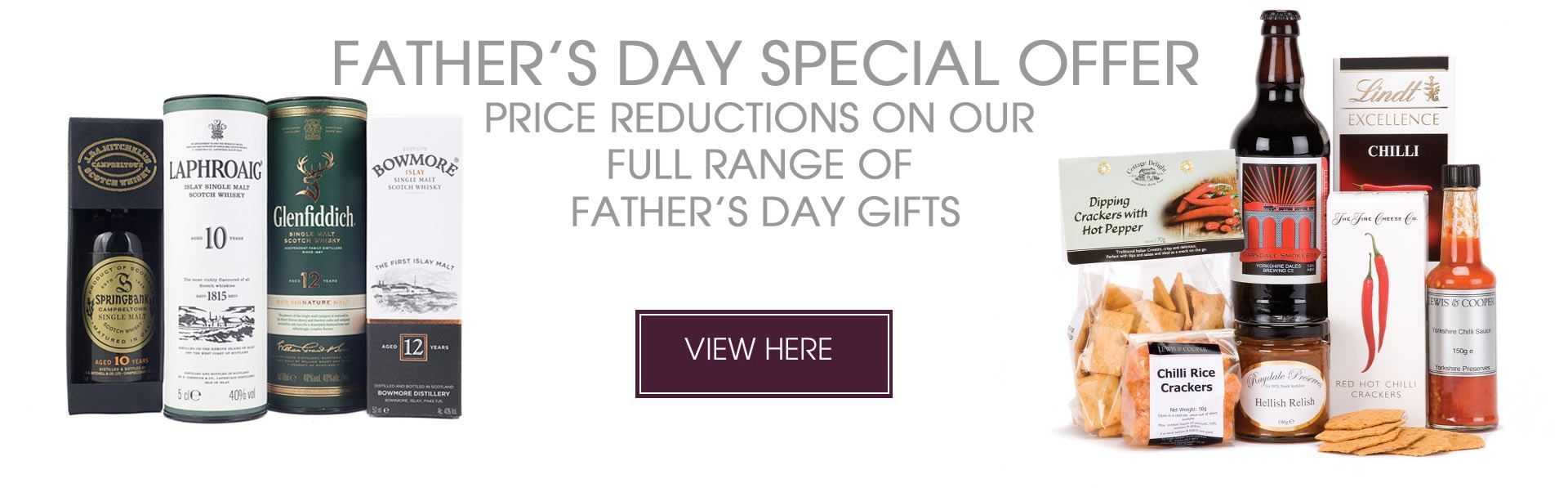 Father's Day Hampers From Lewis & Cooper