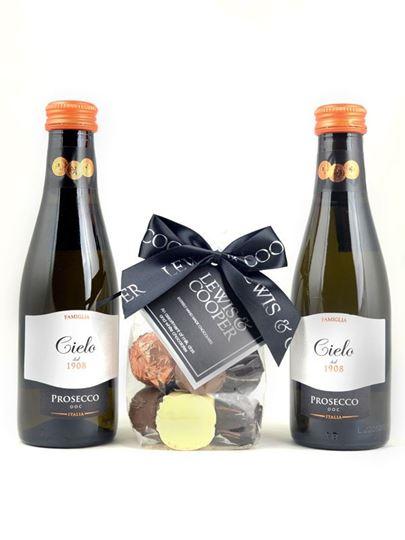 Picture of Mini Prosecco & Chocolates Gift Box