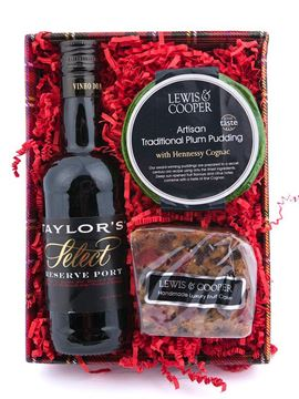 Picture of Lewis & Cooper Port, Pud & Cake Gift Tray