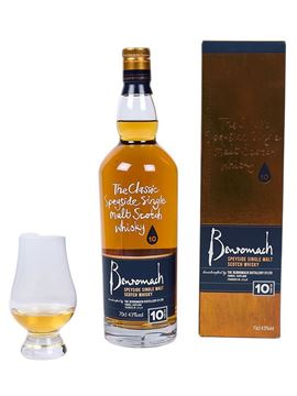 BENROMACH 10 YEAR OLD SPEYSIDE WHISKY
