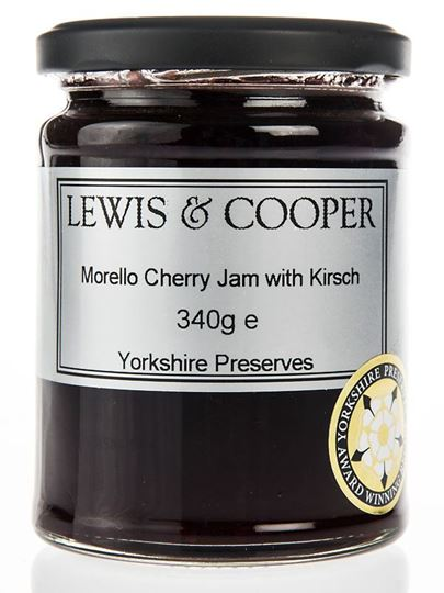 Picture of Lewis & Cooper Morello Cherry Jam with Kirsch