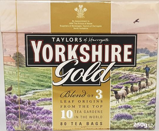 Picture of Taylors of Harrogate Yorkshire Gold Tea Bags 80's