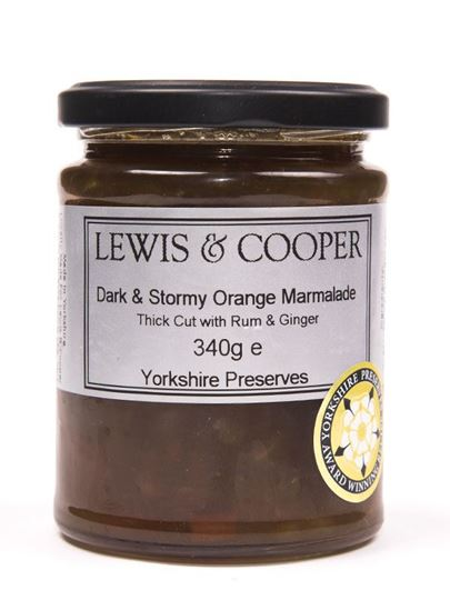 Picture of Lewis & Cooper Dark & Stormy Marmalade