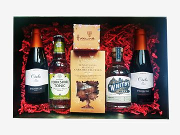 Picture of WHITBY GIN, PROSECCO AND TRUFFLES HAMPER