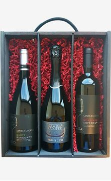 Picture of LUXURY 3 BOTTLE GIFT BOX