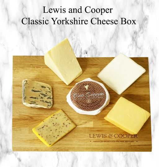 Picture of Lewis and Cooper Yorkshire Cheese Box