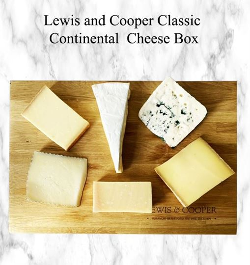 Picture of Lewis and Cooper  Classic Continental Cheese Box